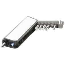 Mini zestaw narzędzi z latarką Reno 7-funkcyjny