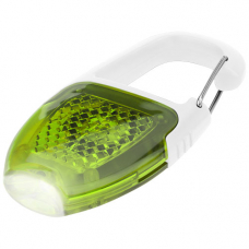 Brelok z karabińczykiem ze światełkiem LED Reflect-or