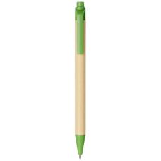Długopis Berk z kartonu z recyklingu i plastiku kukurydzianego