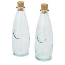 2-częściowy zestaw do oliwy i octu ze szkła z recyklingu Sabor