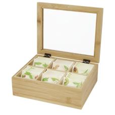 Bambusowe pudełko na herbatę Ocre