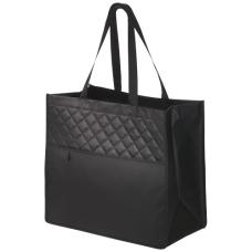 Pikowana, laminowana torba z włókniny Carry-All