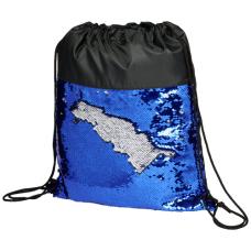 Cekinowy plecak workowy Mermaid