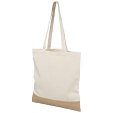 Bawełniano-jutowa torba na zakupy Delhi