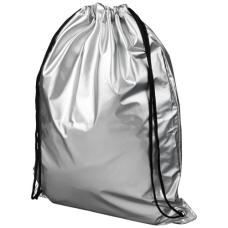 Błyszczący plecak Oriole ze sznurkiem ściągającym