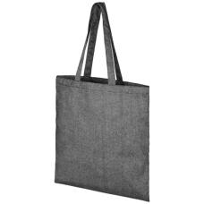 Pheebs Torba na zakupy z bawełnianym sznurkiem ściągającym z recyklingu o gramaturze 210 g/m²