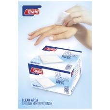 Elisabeth 100 sztuk mokrych chusteczek higienicznych w pudełku