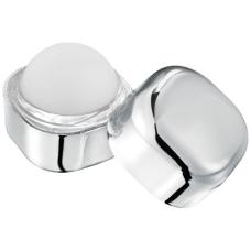 Metaliczny balsam do ust w kostce Rolli bez filtra SPF