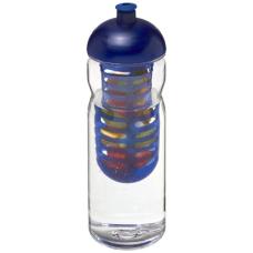 Bidon Base Tritan™ o pojemności 650 ml z wypukłym wieczkiem z możliwością przyrządzania wody smakowej
