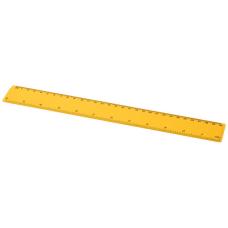 Linijka Renzo o długości 30 cm wykonana z tworzywa sztucznego