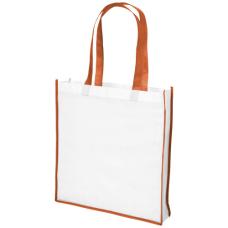 Duża torba na zakupy non-woven Contrast