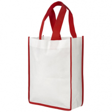 Mała torba na zakupy non-woven Contrast
