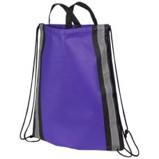 Odblaskowy plecak non-woven ściągany sznurkiem