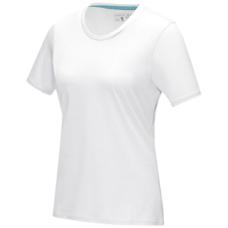 Damska koszulka organiczna Azurite z krótkim rękawem z certyfikatem GOTS