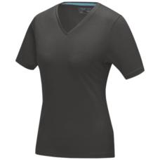 Damski T-shirt organiczny Kawartha z krótkim rękawem