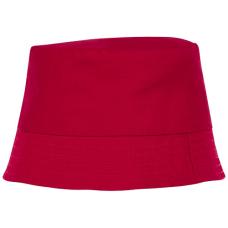 czerwony, kapelusz przeciwsloneczny dla