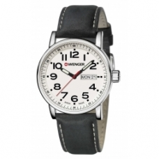 Zegarek Wenger Attitude Day Date 01.0341.101  kolor biały