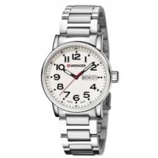 Zegarek Wenger Attitude Day Date 01.0341.102  kolor biały