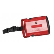 Identyfikator bagażu Victorinox Tracing ID, czerwony