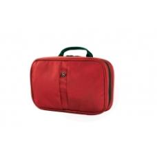 Kosmetyczka Victorinox ZIP-AROUND TRAVEL KIT, czerwona