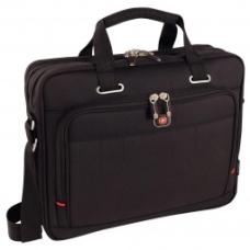 Torba Wenger ACQUISITION 16` double compartment notebook case 68367201  kolor czarny 600645