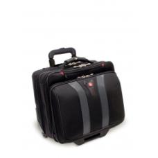 Torba pilotka Wenger Granada 17`, czarna  kolor czarny