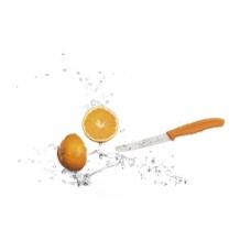 Nóż do kiełbasy i pomidorów  kolor pomarańczowy