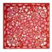 Apaszka `Fairy Garden Red`