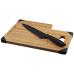 Bambusowa deska do krojenia z nożem Avery