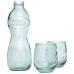 3-częściowy zestaw szkła z recyclingu Brisa