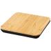 Bezprzewodowa podkładka ładująca Leaf z bambusa i tkaniny