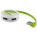 4-portowy hub USB Round