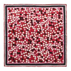 Apaszka Ungaro Confetti  kolor bordowy