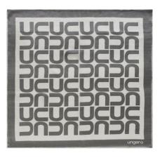 """Apaszka Ungaro  """"Monogramma Mini Grey/white""""  kolor szary"""
