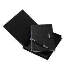 Zestaw Ungaro notatnik A5  + długopis seria Uuuu Homme, kolor czarny